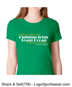 *optional* OFFICIAL Team Shirt - Ladies American Apparel Tee Design Zoom